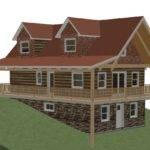 Ecolog Log Cottage Walkout Basement
