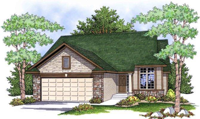 Economical Easy Build Ranch House Plan