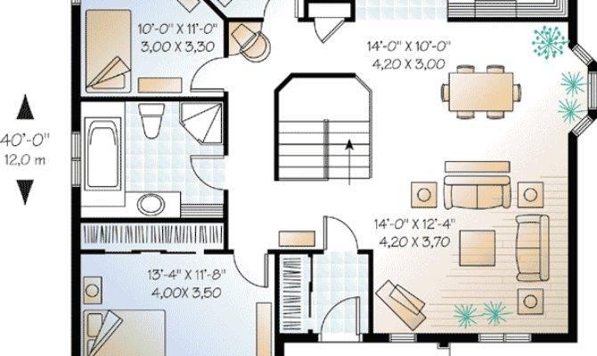 Economical Three Bedroom House Plan
