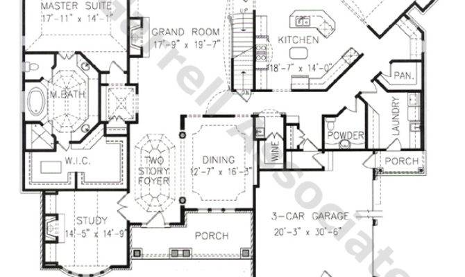 Edinburg Manor House Plan Plans Garrell