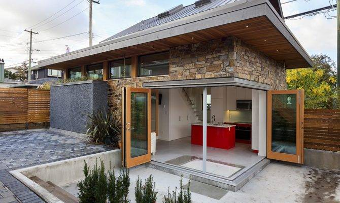 Efficient Contemporary Laneway House Lanefab Small Bliss