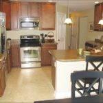 Efficient Kitchen Includes Peninsula Snack Bar Open