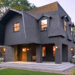Either End Mansard Roof Hip Sloping Sides