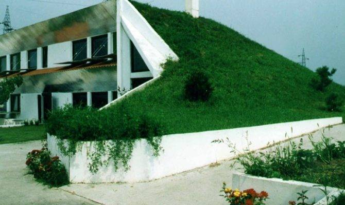 Eko Kuca Eco House Designed Vegetated Roof