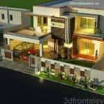 Elaine Silva Kanal House Plan Layout Front