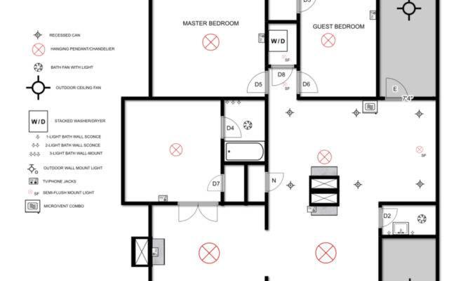 Electrical Plan Myrtle House Elizabeth Burns Design