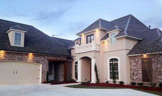 Elegant French Country Home Plan Floor