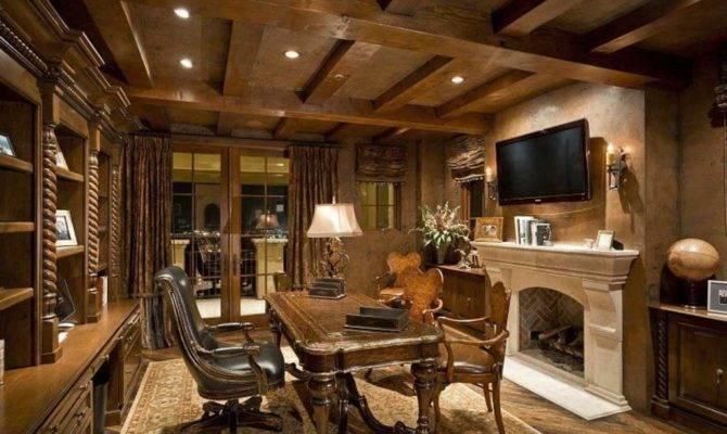 Elegant Most Beautiful Home Office Interiors Luxury
