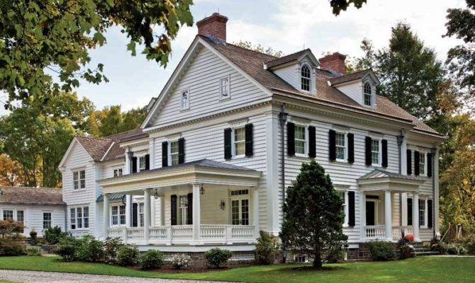 Elegant New England Federal Old House
