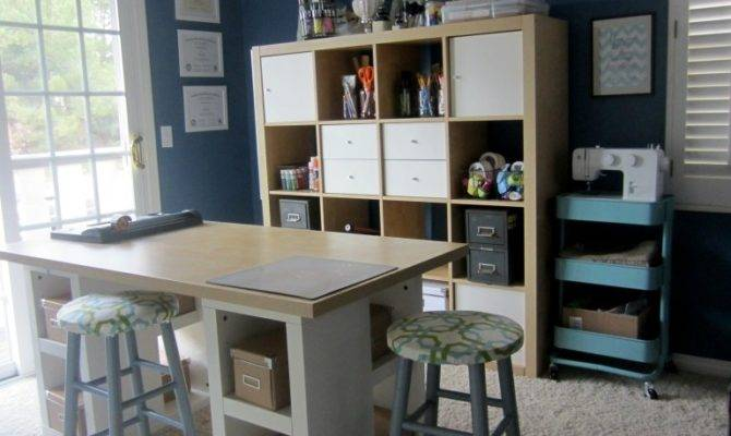 Elegant Office Craft Room Ideas Furniture