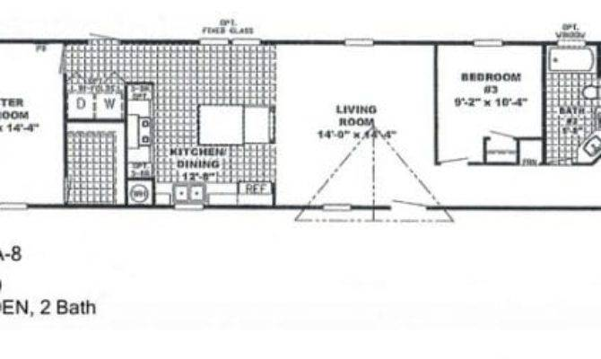 Elegant Single Wide Mobile Home Floor Plans
