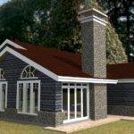 Elegant Three Bedroom Bungalow House Plan David Chola Architect