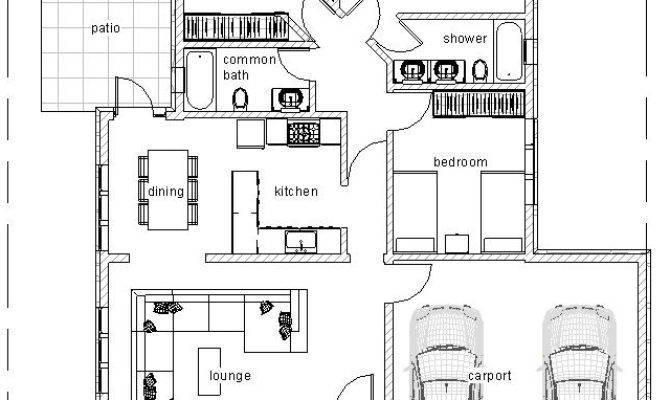 Elegant Three Bedroom Bungalow House Plan David Chola