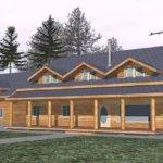 Elegant Two Story Ranch Style House Plans New Home