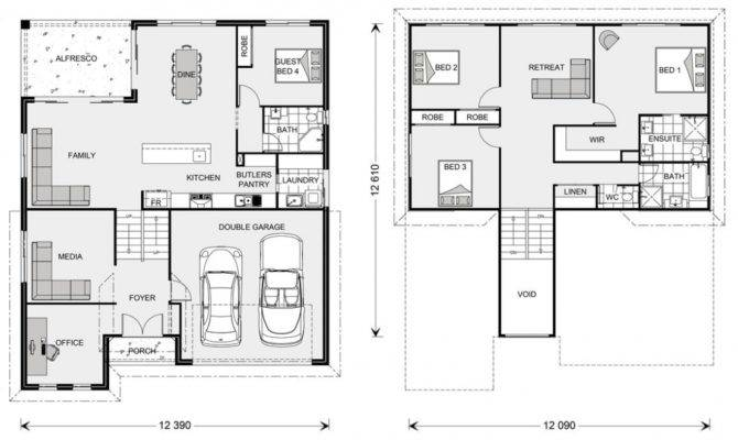 Elevated House Floor Plans Architectural Designs