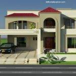 Elevation Marla Houses Pakistan Joy Studio Design