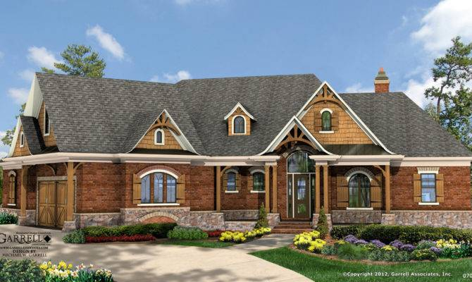 Elevation Rustic Style House Plans Wheelchair Accessible