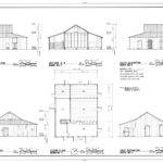 Elevations Section Floor Plan Roberts Dolezal