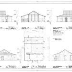 Elevations Section Floor Plan Roberts Dolezal