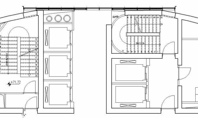 Elevator Plan Drawing Hotel Design Guestroom Sample