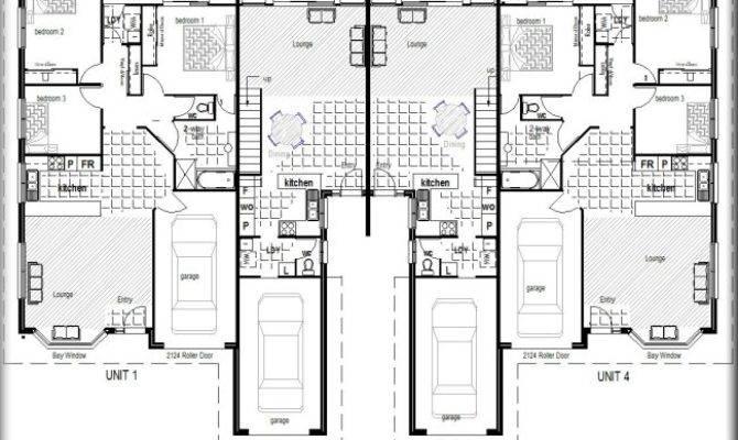 Elite Townhouse Units Complex Kit Home Designs