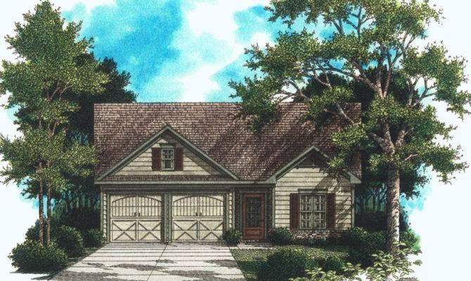 Elkhart Lake Cottage Home Plan House Plans More