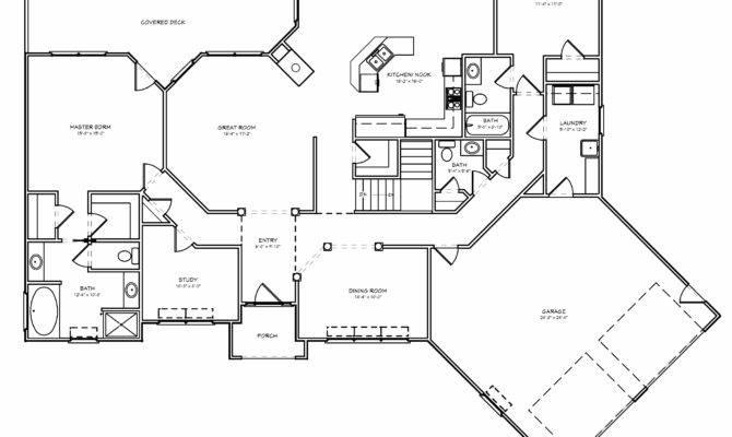 Empty Nest House Plan Downsizing Retirement