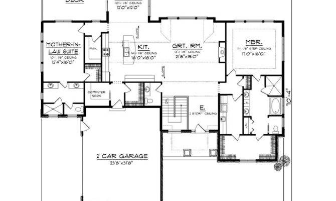 Empty Nester House Plans European Style
