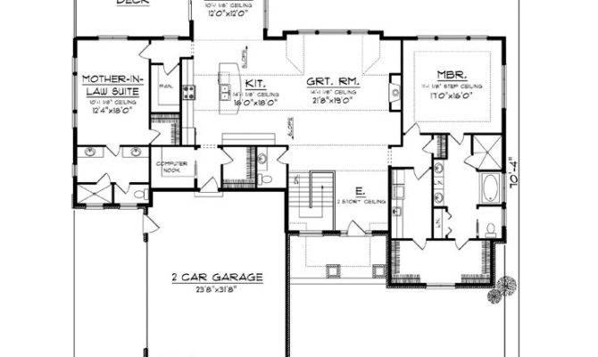 Empty Nester House Plans European Style
