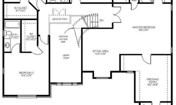 Enchanting Colonial Style Two Story House Plan Redwood