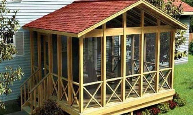Enclosed Back Porch Design Karenefoley Chimney