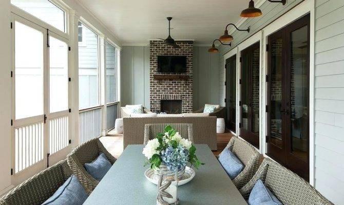 Enclosed Back Porches Porch Design