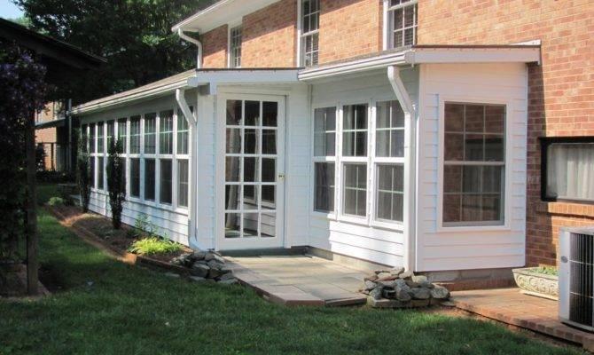 Enclosed Back Porches