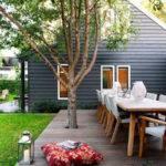 Enclosed Courtyard Entertaining Deck Design Calendar