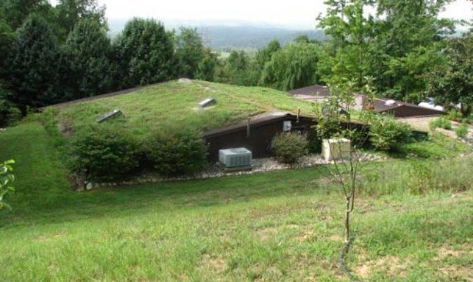 Energy Efficient Berm Home Acres Virginia Mountains