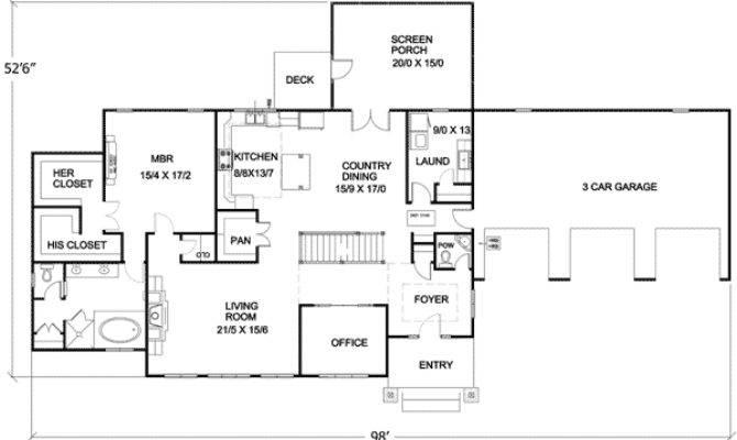 Energy Efficient Ranch Basement Floor