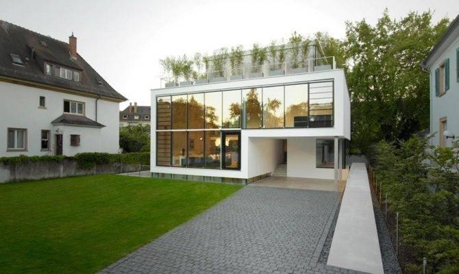 Energy Optimized House Roof Terrace Louver Windows