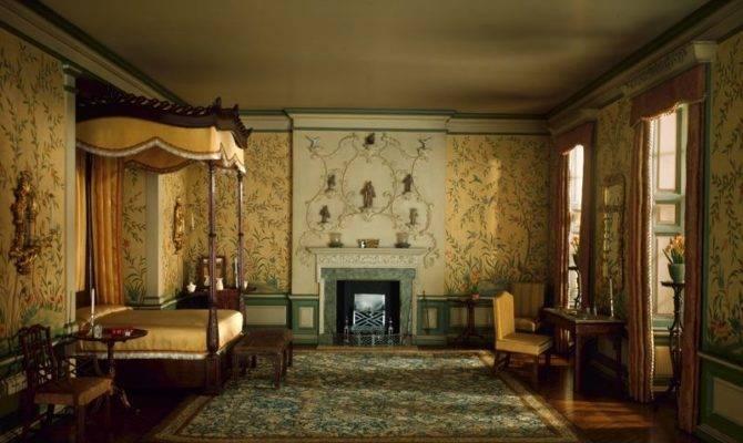 English Bedroom Georgian Period Charlotte Interior