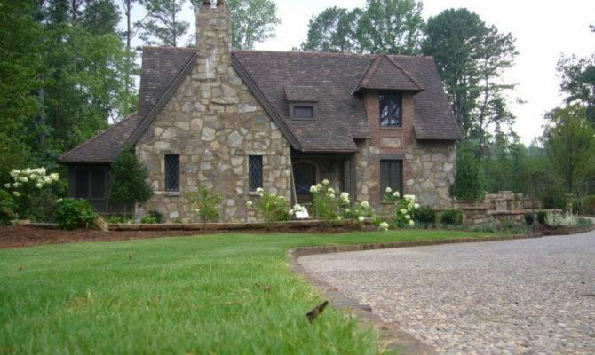 English Cottage Built Bonner Custom Homes