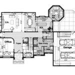 English Cottage House Plan First Floor Plans