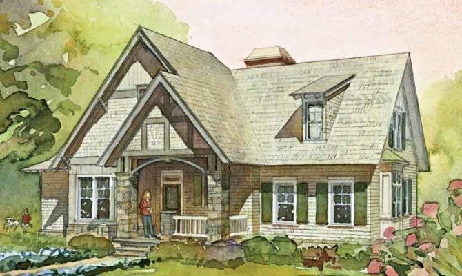 English Cottage House Plans Eplans European