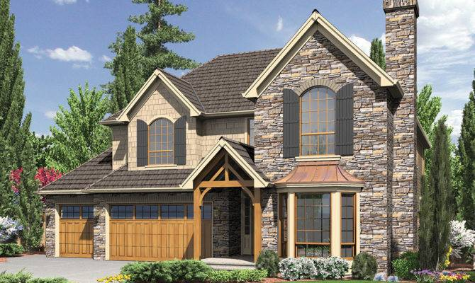 English Cottage Style Home Plan Architectural
