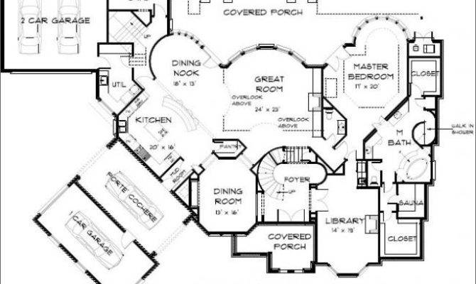 English Country Mansion Floor Plans Home Deco