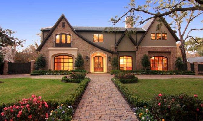 English Style New Build Houston Homes Rich