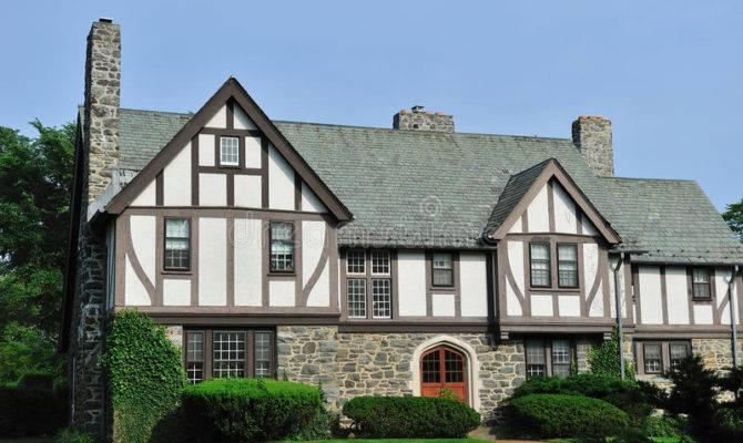 English Tudor House Exterior