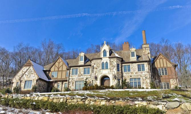 English Tudor Mansion Montville Homes Rich