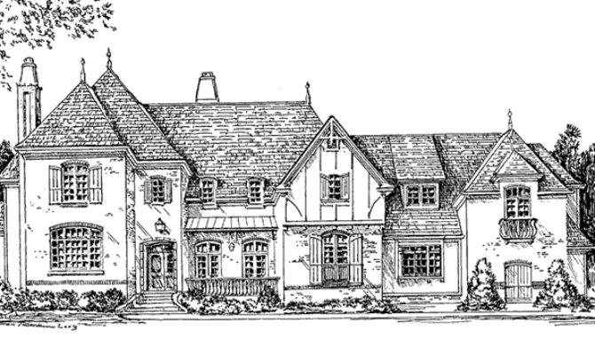 English Tudor Style House Plans Design
