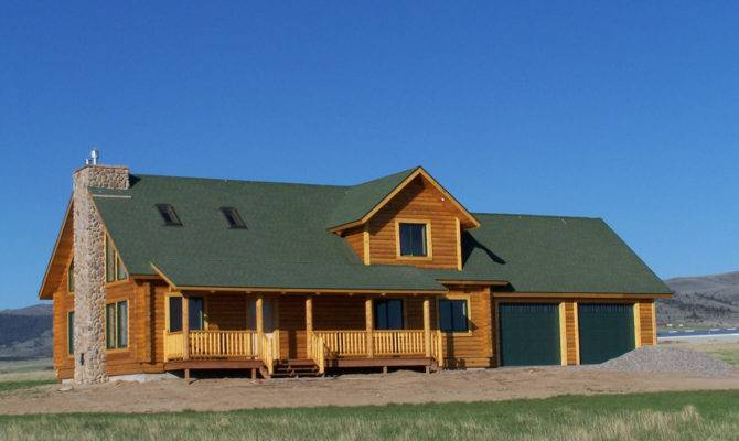 Ennis Floor Plan Cowboy Log Homes