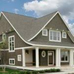Entire House Clad Cedar Shingles Used Semi Solid Wood