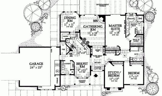 Eplans Adobe House Plan Stand Out Stucco Square Feet